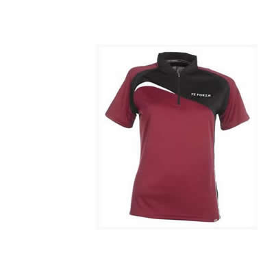 Ivy Ladies Tee - Beet Red