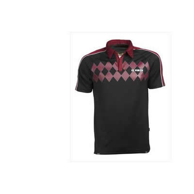 Cairo Mens Tee - Beet Red
