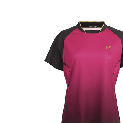 Elsa Ladies Tee - Bright Rose