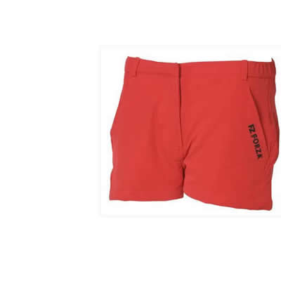 Ganni Shorts Chinese Red JR