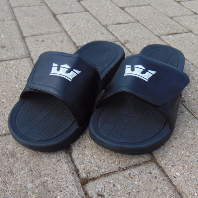 Supra Locker Flip Flops Black